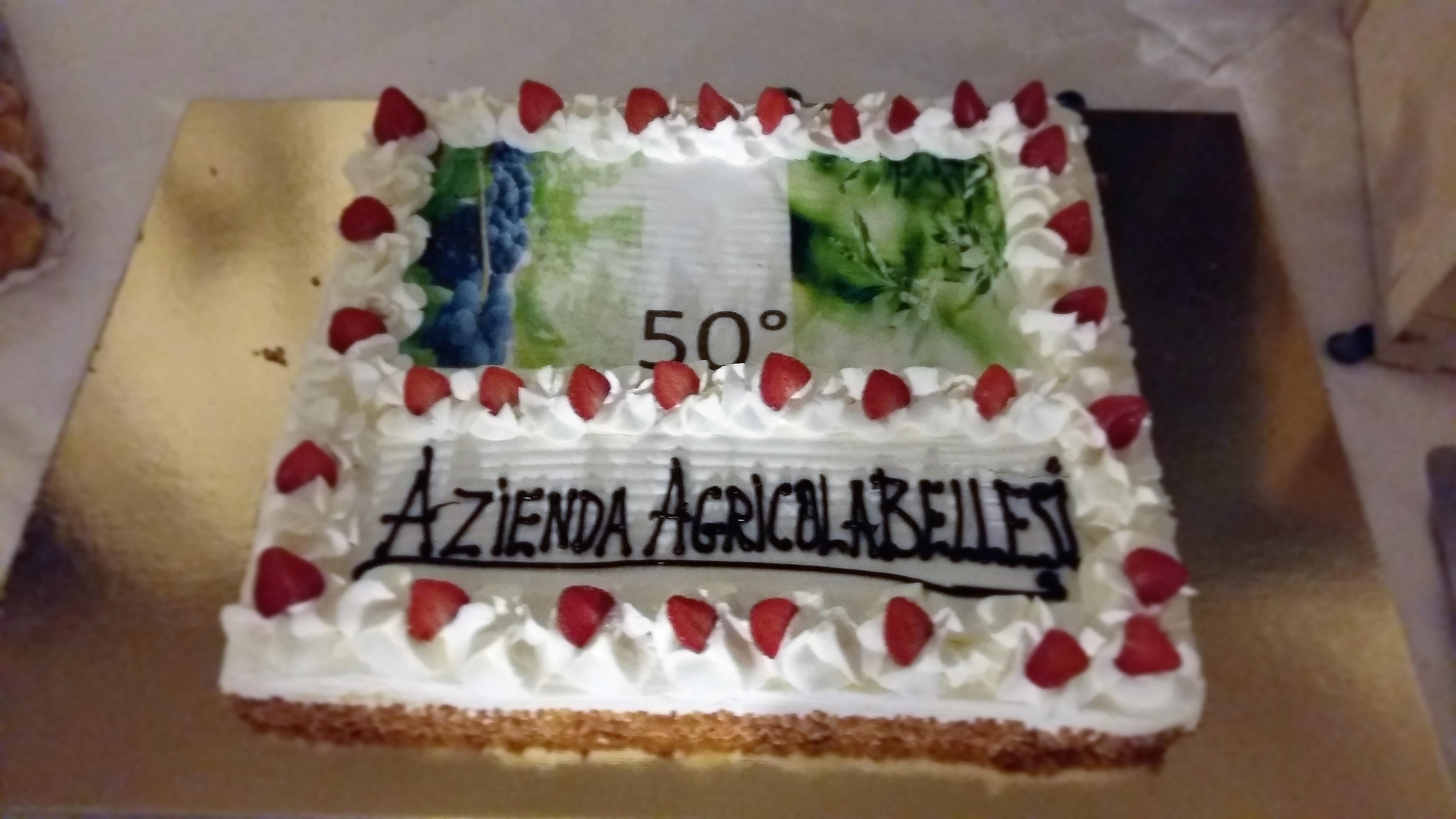 Torta Dei 50 Anni Bellesi Alberto