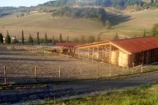 Veduta della fattoria